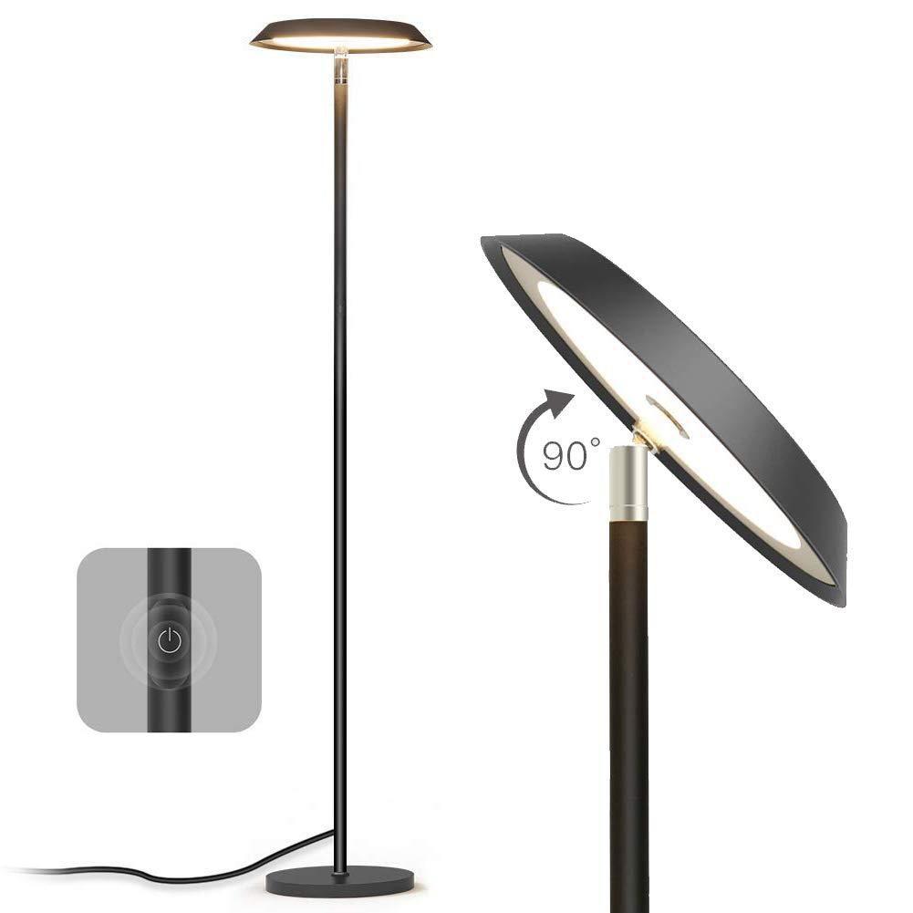 Dimbare LED Vloerlamp bij Amazon.de voor €27,99