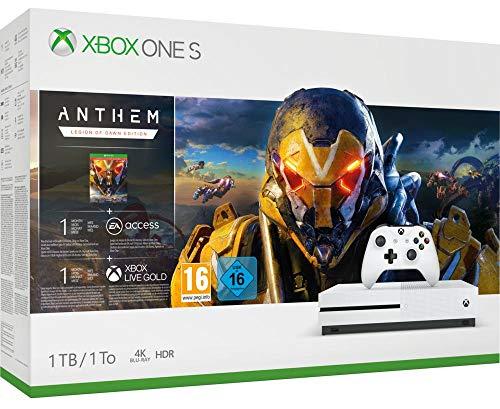 Xbox One S 1TB Anthem @Amazon.fr