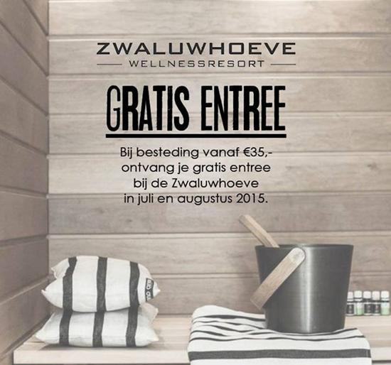 GRATIS entree Zwaluwhoeve in juli & augustus bij besteding vanaf €35 @Hipvoordeheb