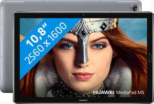 Huawei MediaPad M5 10.8 Grijs voor slechts € 190,32 bij @BOL