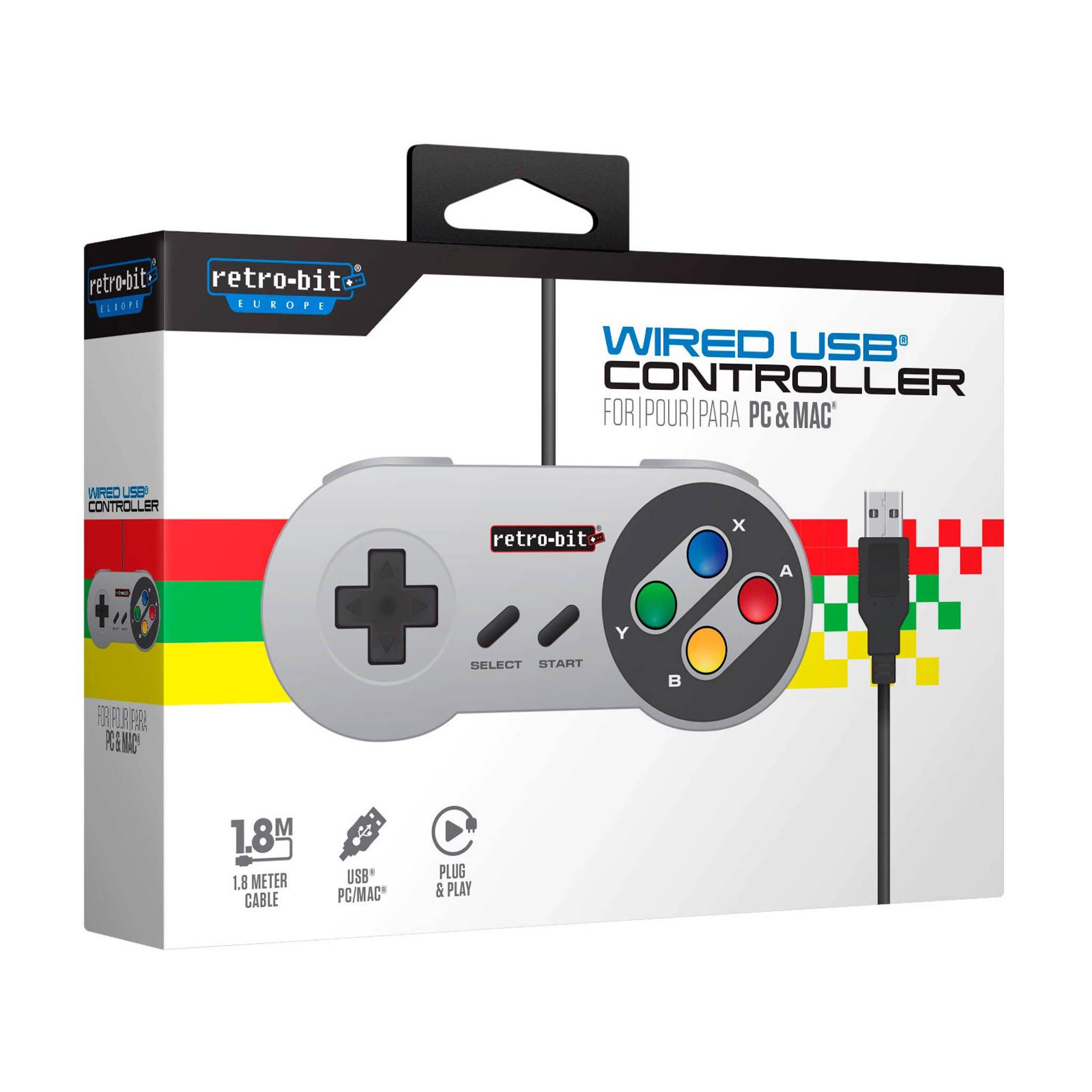 Retro-Bit SNES USB Controller @ Wehkamp