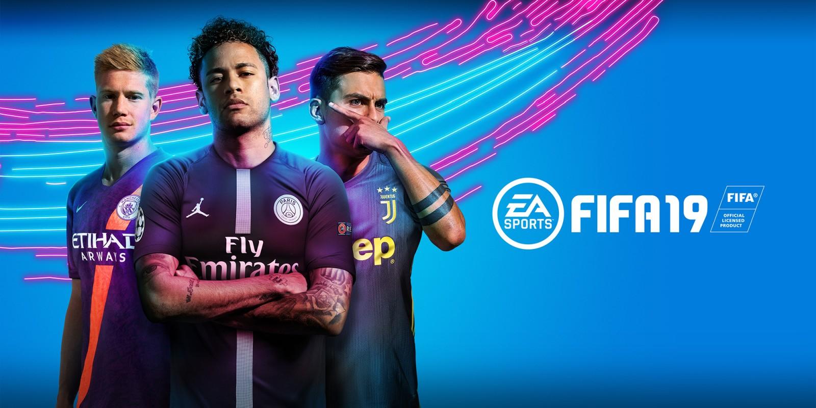 Fifa 19 Switch 19,79 in nintendo e-shop