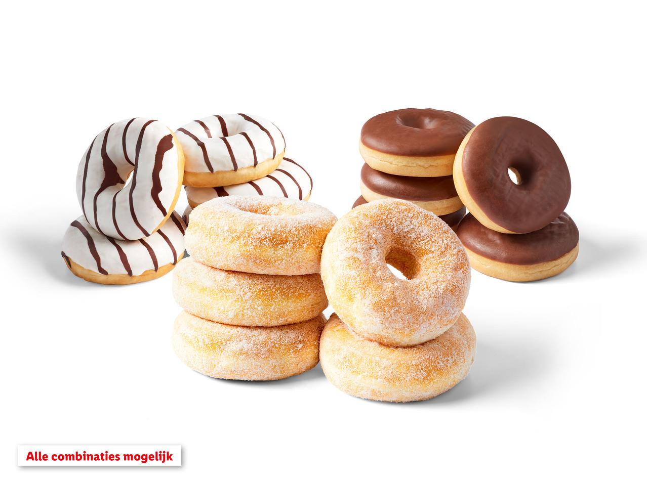 5 Donuts voor 1 euro vier varianten alleen maandag @Lidl