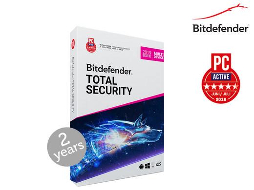 Bitdefender Total Security 2019   2 OF 3 Jaar   10 Apparaten