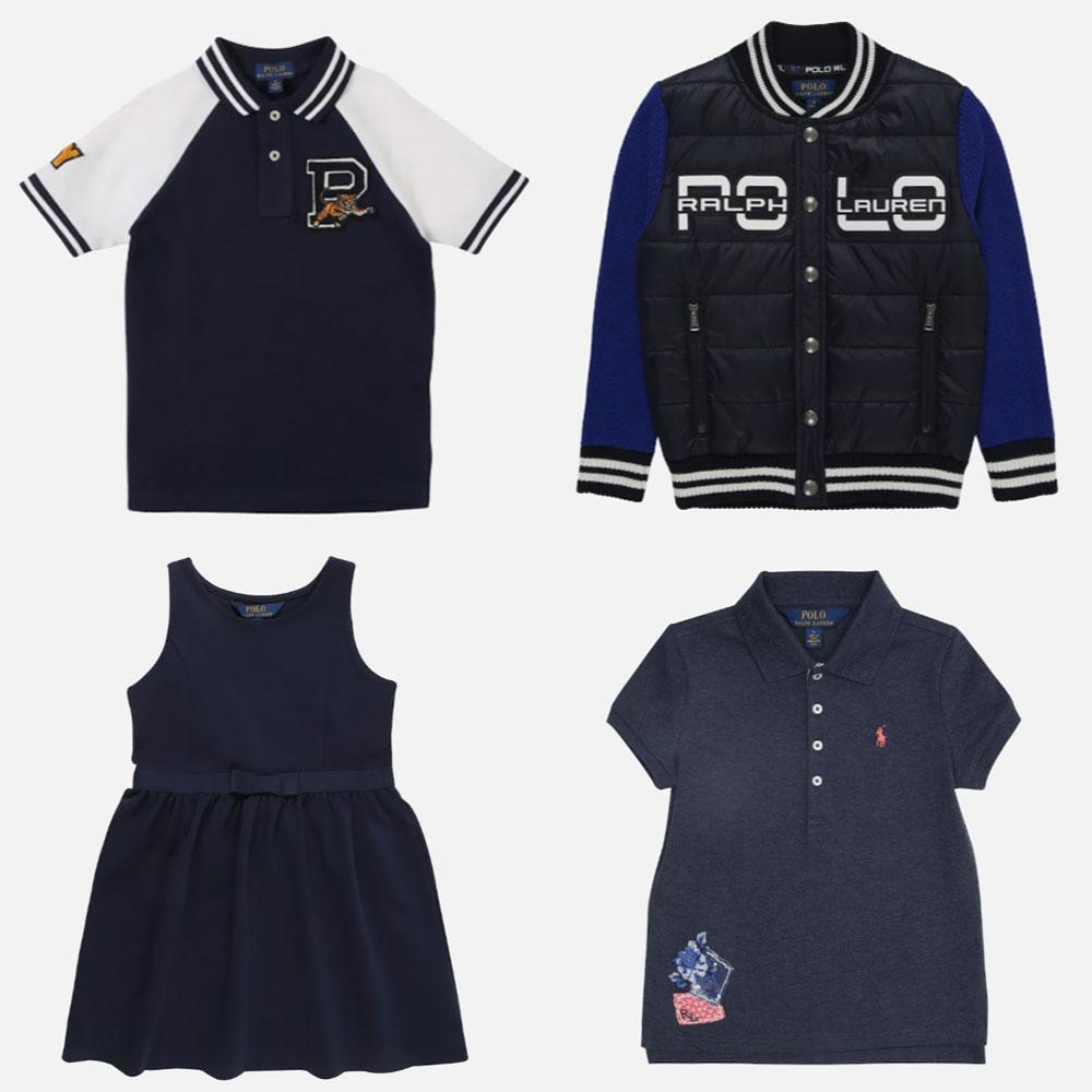 Polo Ralph Lauren kids tot -72% + 10% extra met code @ About You