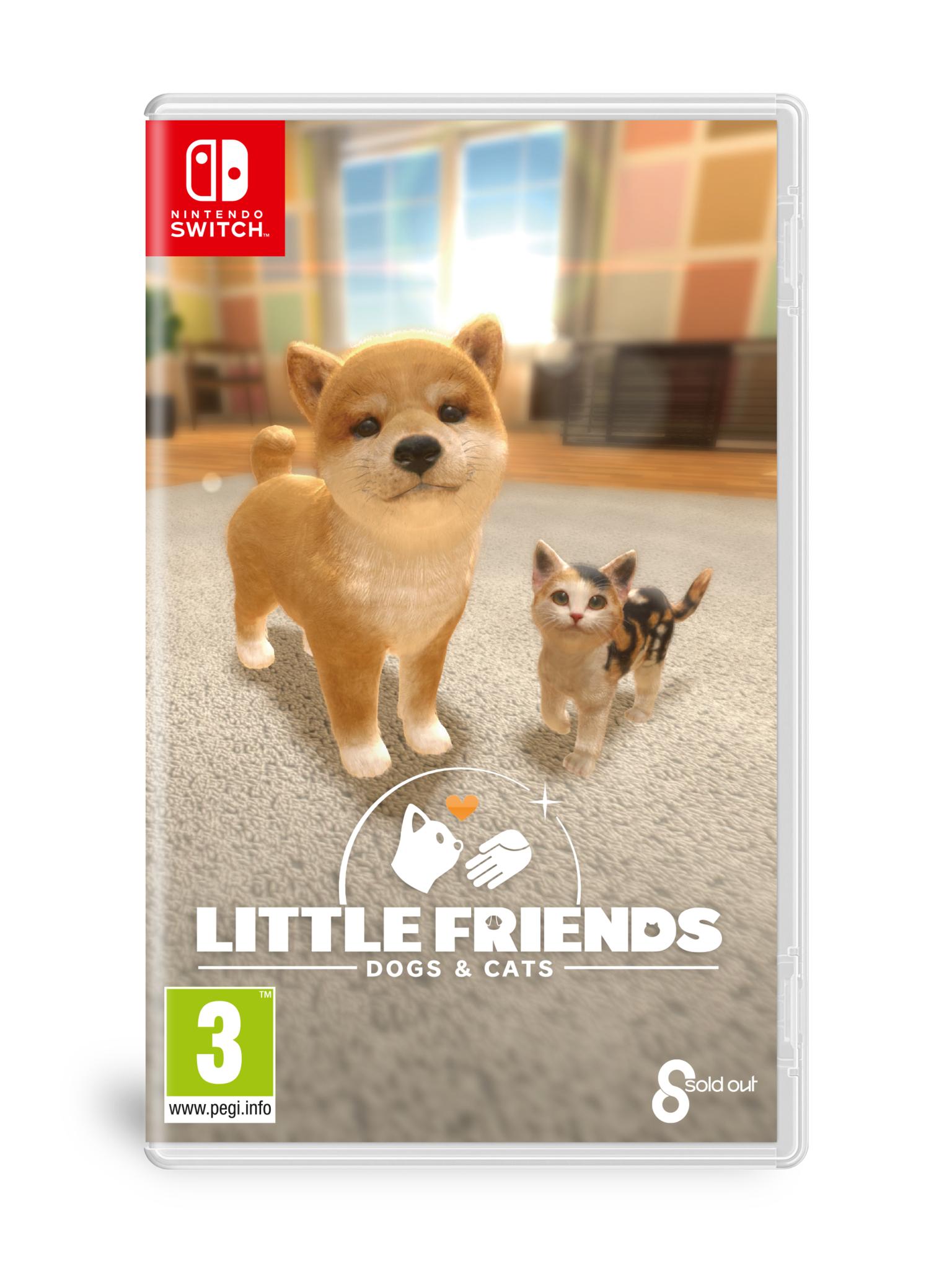 Little Friends - Dogs & Cats Nintendo Switch - €33,99 || GameResource.nl