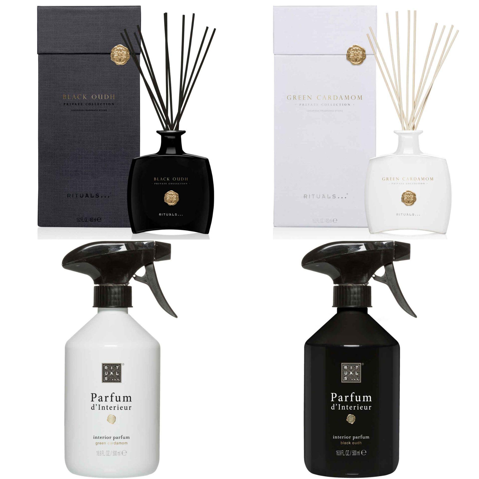 Rituals Private collection SALE (Black Oudh, Goji Berry, Green Cardamom, Wild Fig) @Hudson's Bay