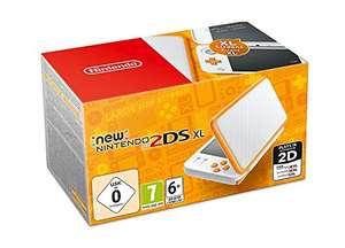 New Nintendo 2DS XL White/Orange