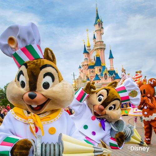 [€131,16 p.p. bij 6p] 3 dagen met overnachting naar Disneyland Parijs (incl. parkeren en eerder toegang)