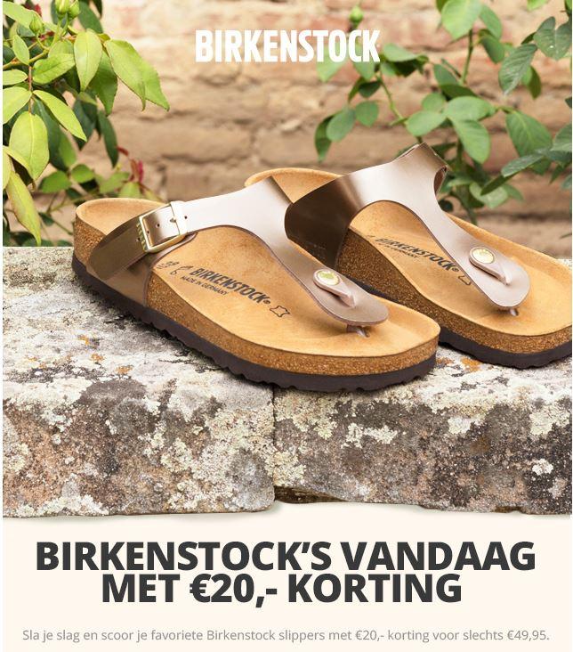 Birkenstock slippers @ Plutosport