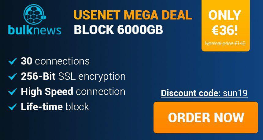 6 TB Block account voor €36