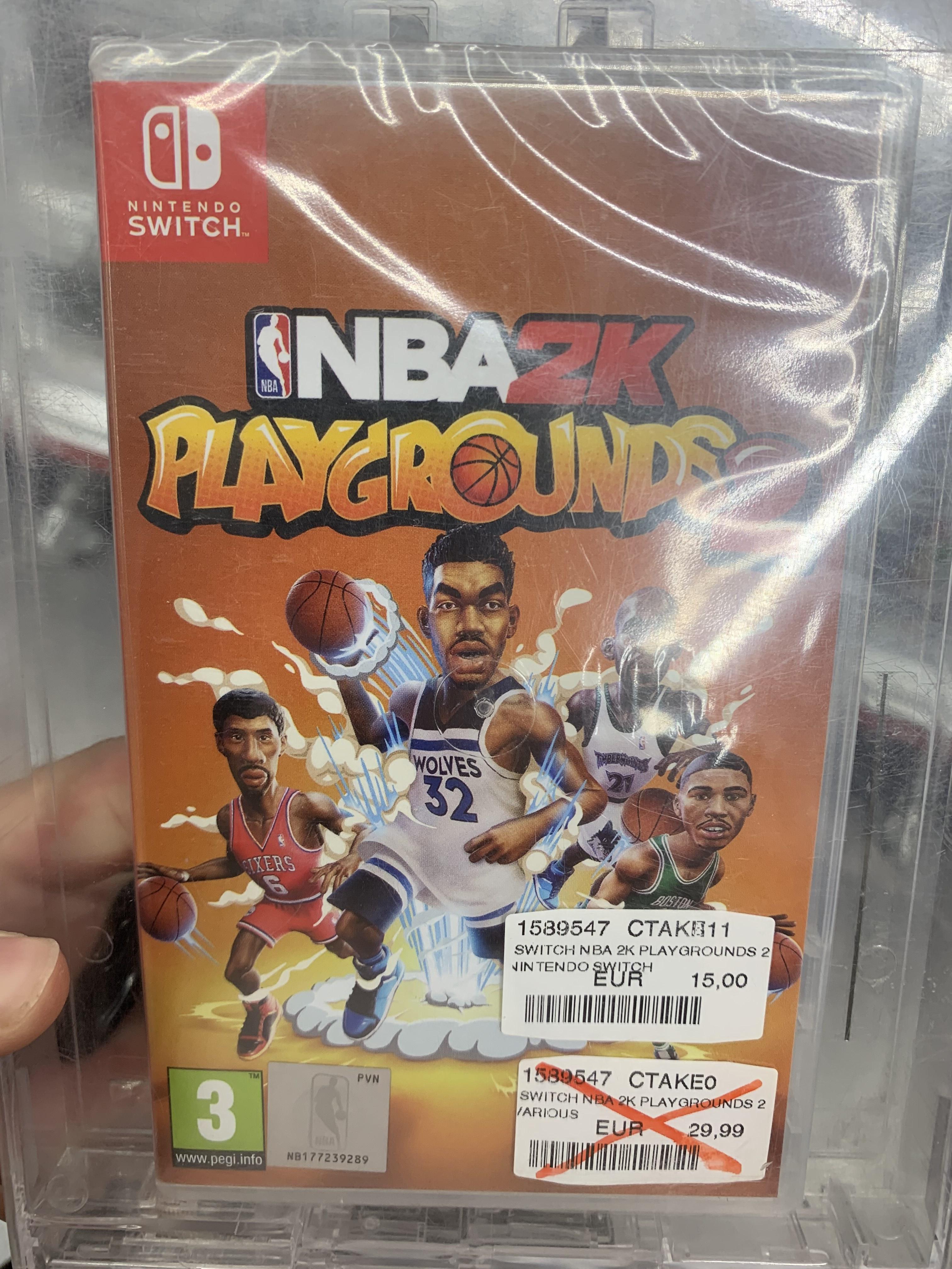 NBA2K Playgrounds 2 Nintendo Switch Media Markt