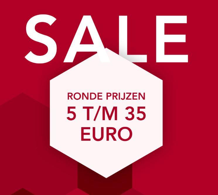 Final sale: ronde prijzen €5 - €35 = tot -85% @ DIDI