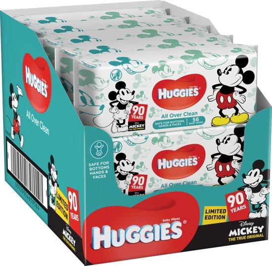 Huggies Disney Toetenveger - 10x 56 doekjes limited edition