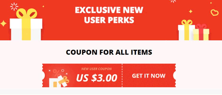 Nieuw coupon $3 korting op $20