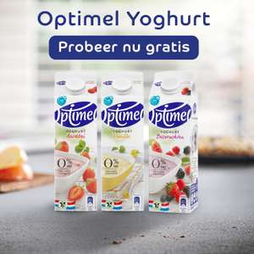 Probeer gratis: Optimel Yoghurt 1L (Eurosparen)