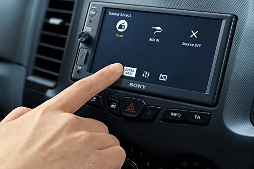 Sony XAV-AX1000 autoradio 2DIN met Apple CarPlay