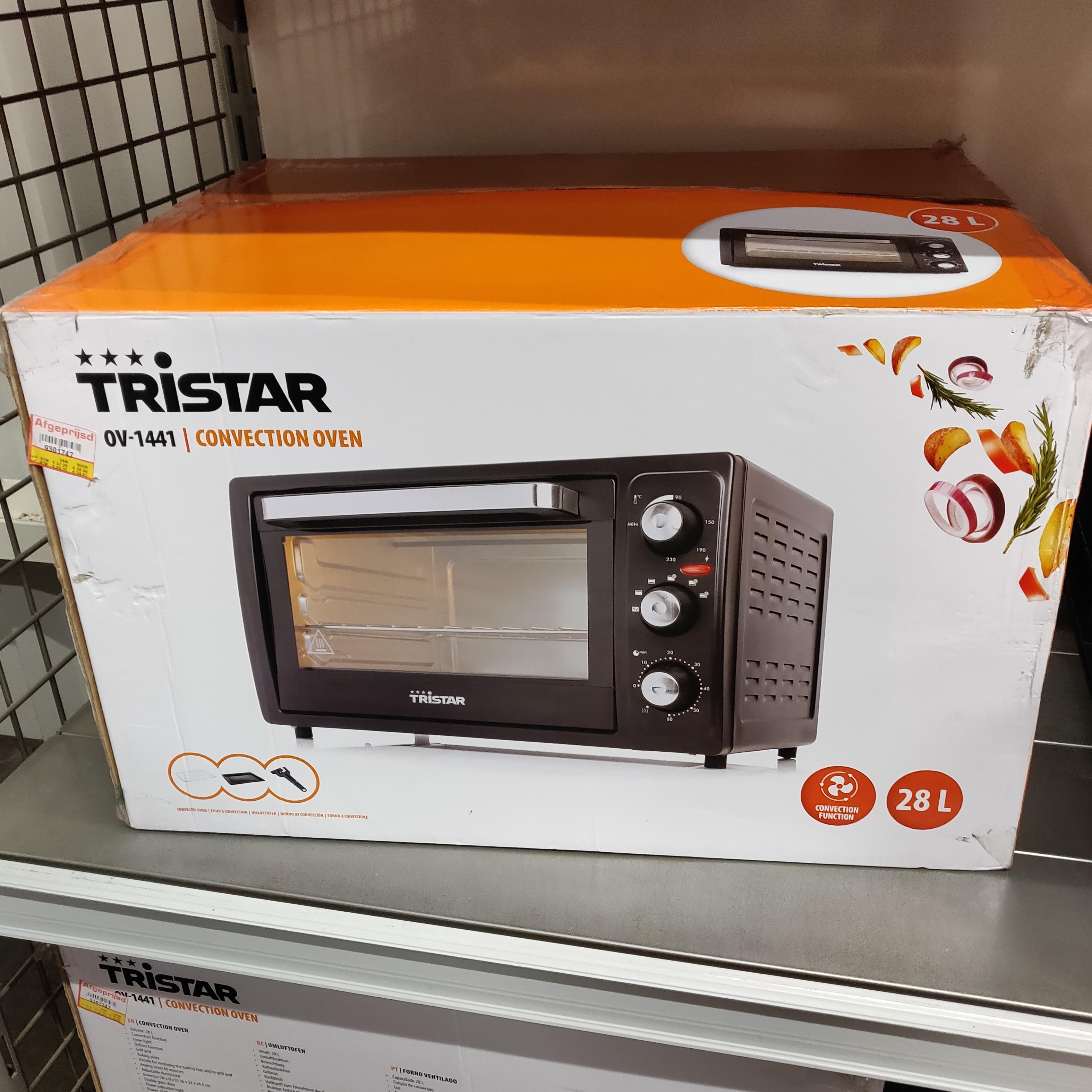 [Lokaal?] Tristar OV-1441 elektrische oven 28L @Makro Den Bosch