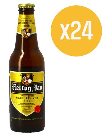24 x Hertog Jan voor 8,50 euro (incl bezorging)