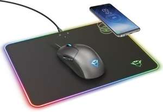 Trust GXT 750 Qlide Gaming Muismat met Draadloos QI Opladen @ Bol.com