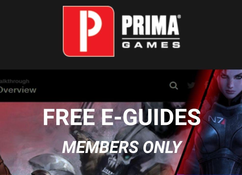 10 gratis e-guides bij Primagames