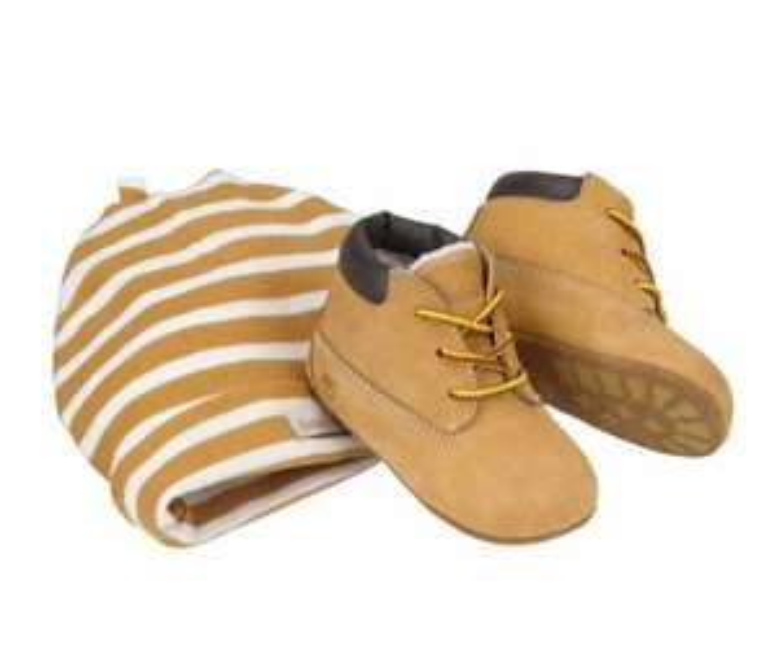 Timberland babyschoen met muts in giftbox voor €14,99 @ Bol.com