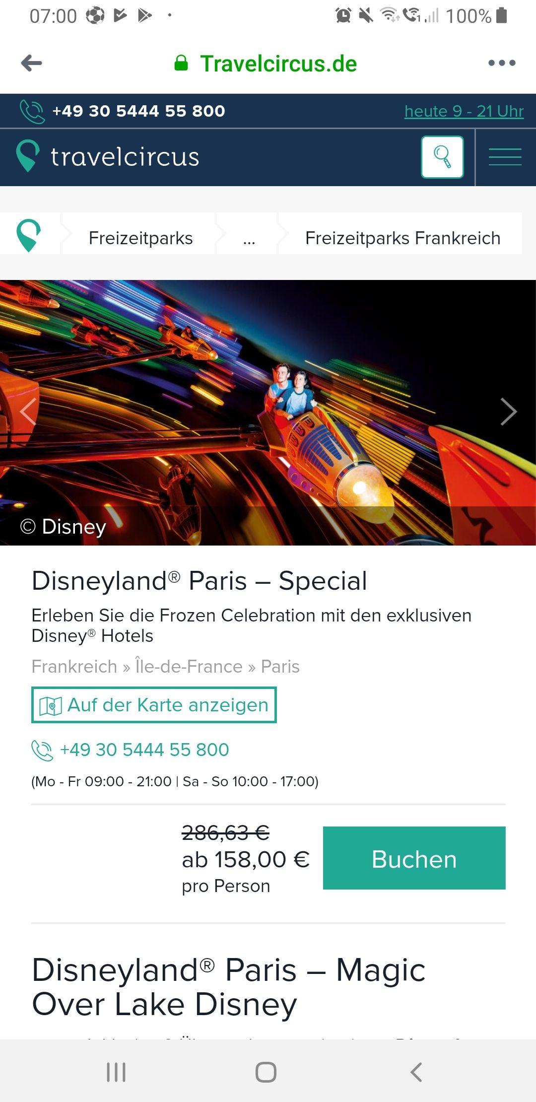Disneyland paris special frozen vanaf 158 p.p.