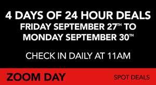 Zoom Day! | Heel veel korting op Blu-Rays en DVD's
