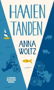 """Kinderboekenweek 2 t/m 13 oktober: gratis geschenk """"Haaientanden van Anna Woltz"""" bij besteding van €10"""