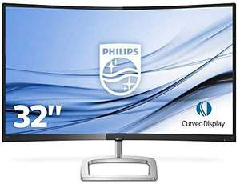 "Philips 31.5"" curved monitor WQHD"