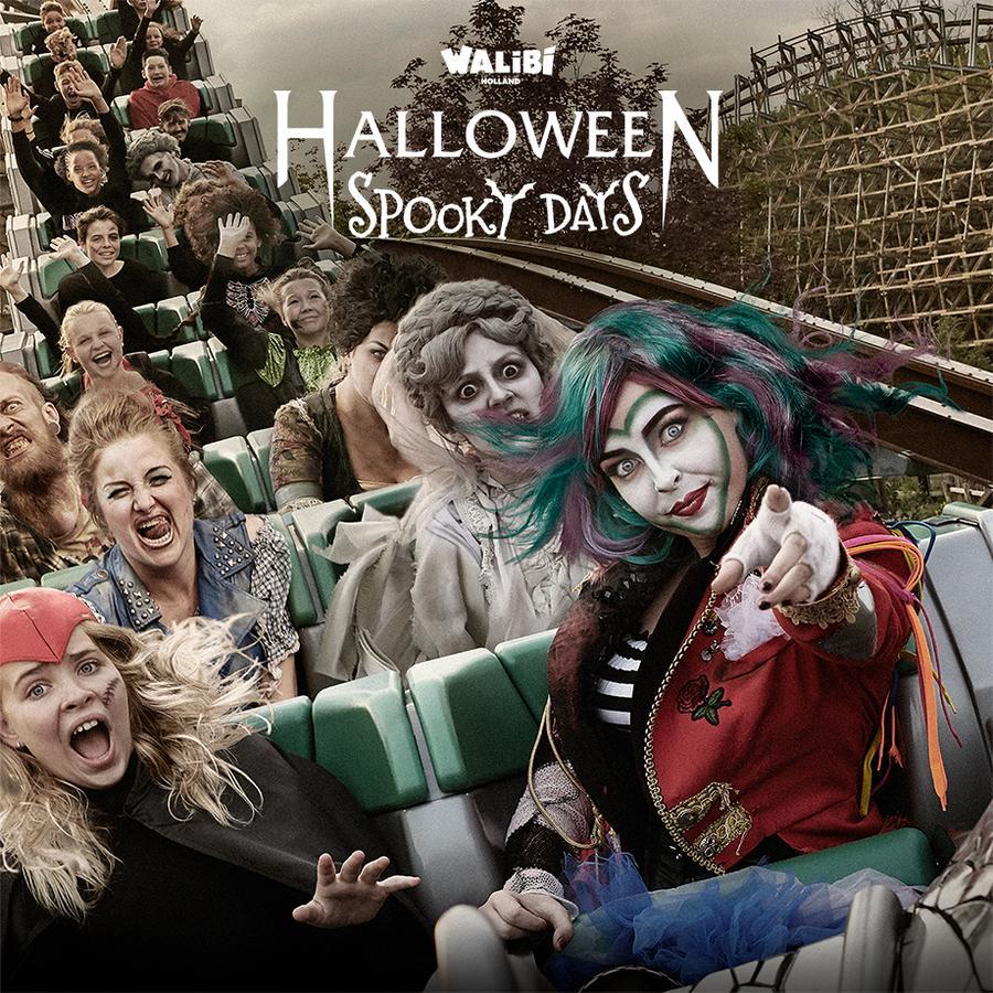50% korting op Halloween Spooky Days @Walibi (Leeftijd 6-12 jaar)
