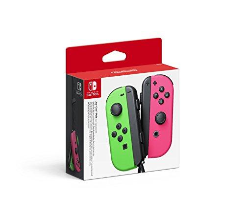 Nintendo Switch Joy-Con Set Groen/Roze & set Neon Geel [Amazon.de]