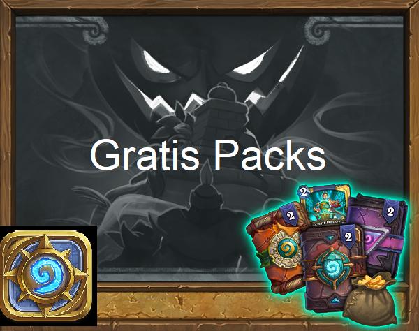 Gratis Card Packs voor Hearthstone @ Hearthstone in-game