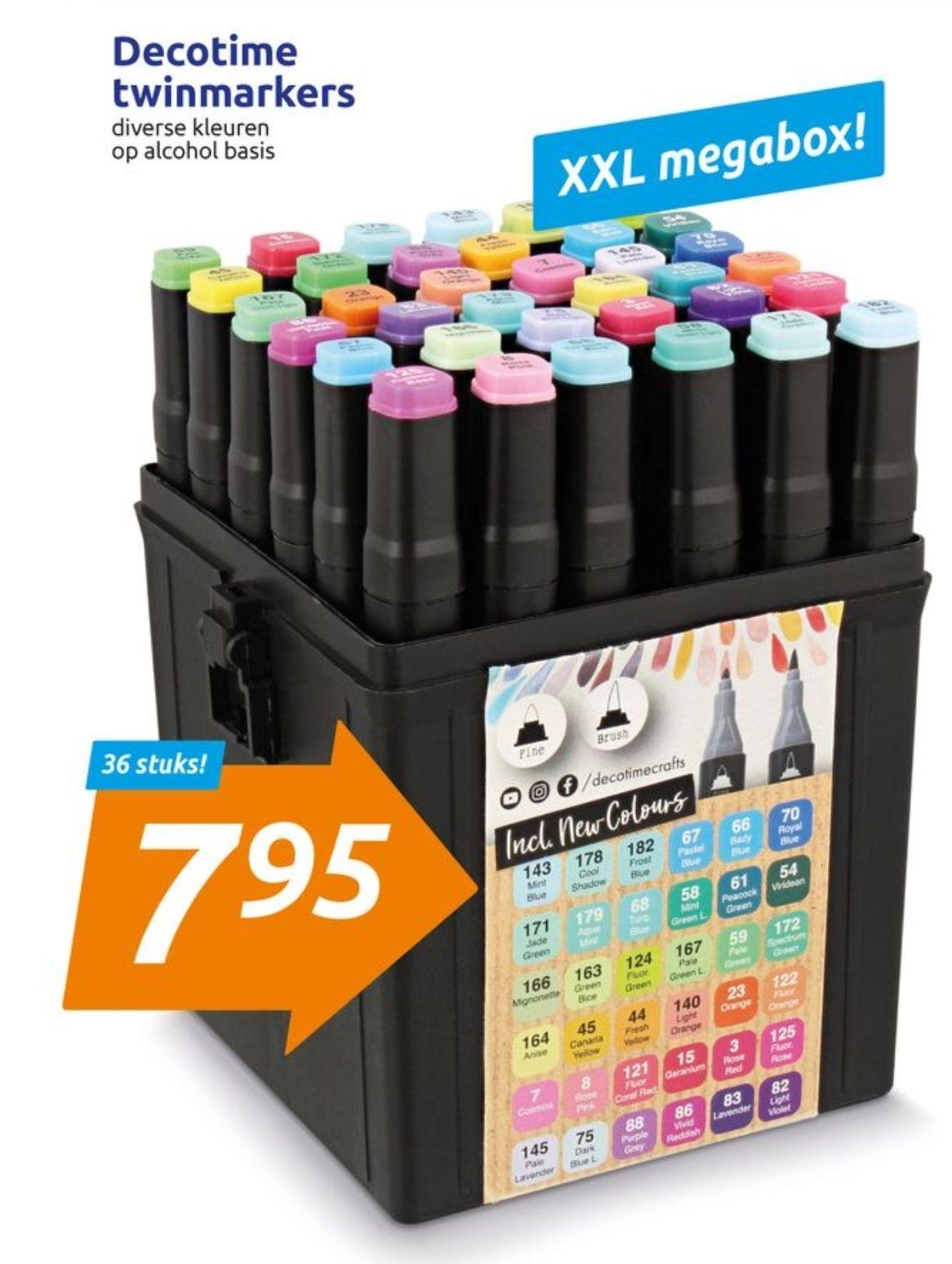 Decotime Twin Marker XXL Megabox (Action)