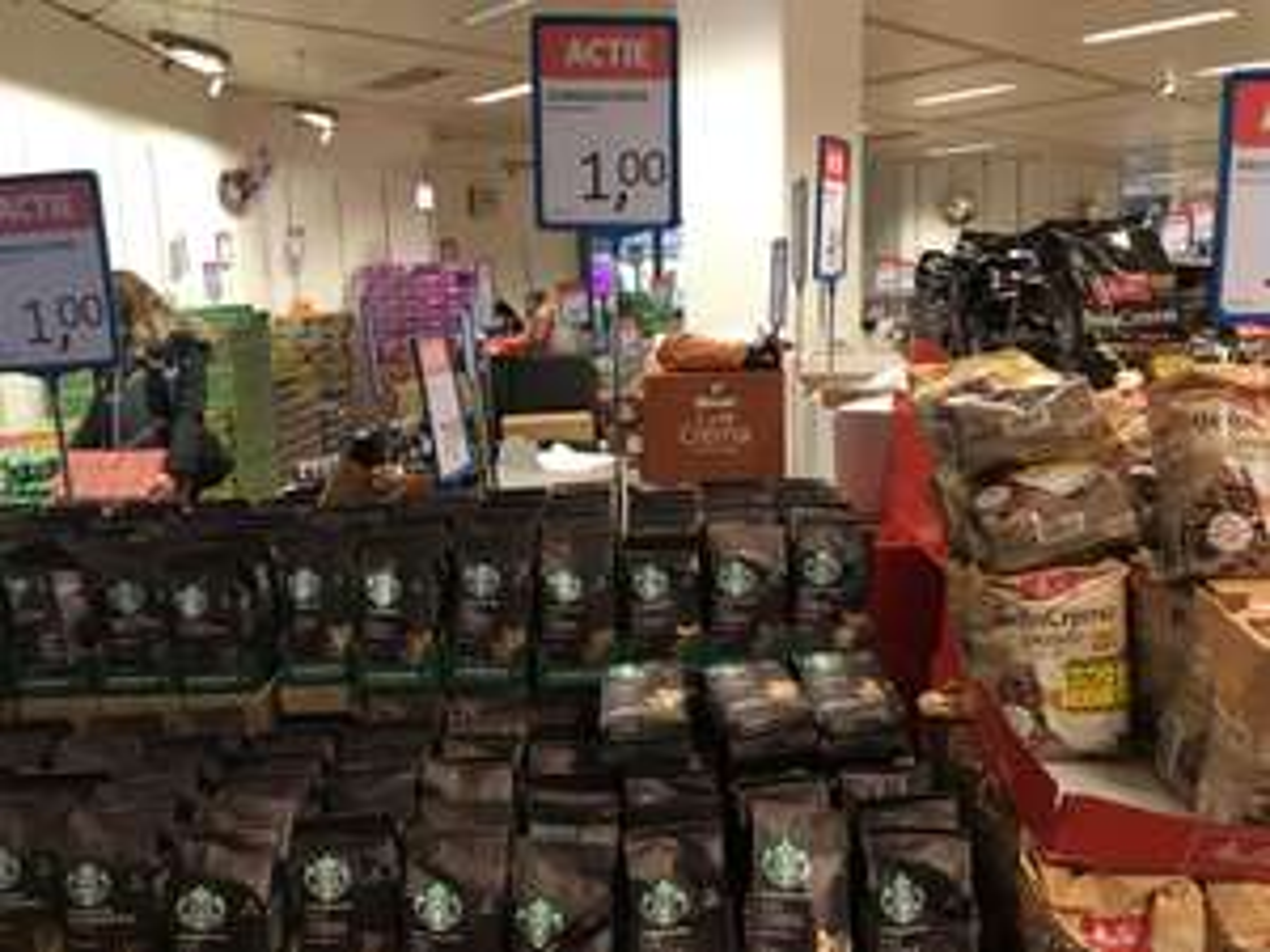 Starbucks koffie bonen @ die grenze Emmen