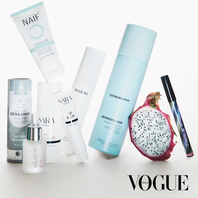 8x Vogue Inclusief Vogue Natural Beauty Box t.w.v. €210,40