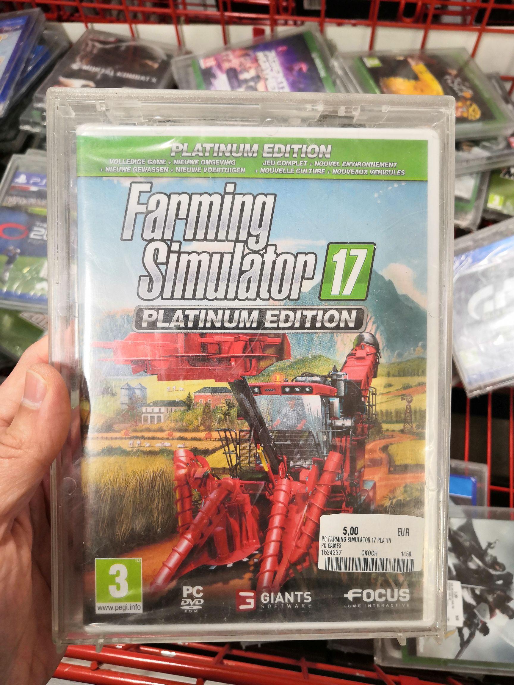Farming Simulator 17 PC (lokaal?)