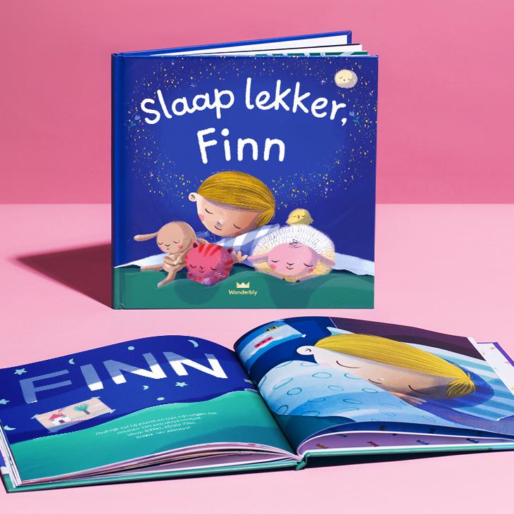 Wonderbly: Tot 30% korting op gepersonaliseerde kinderboeken