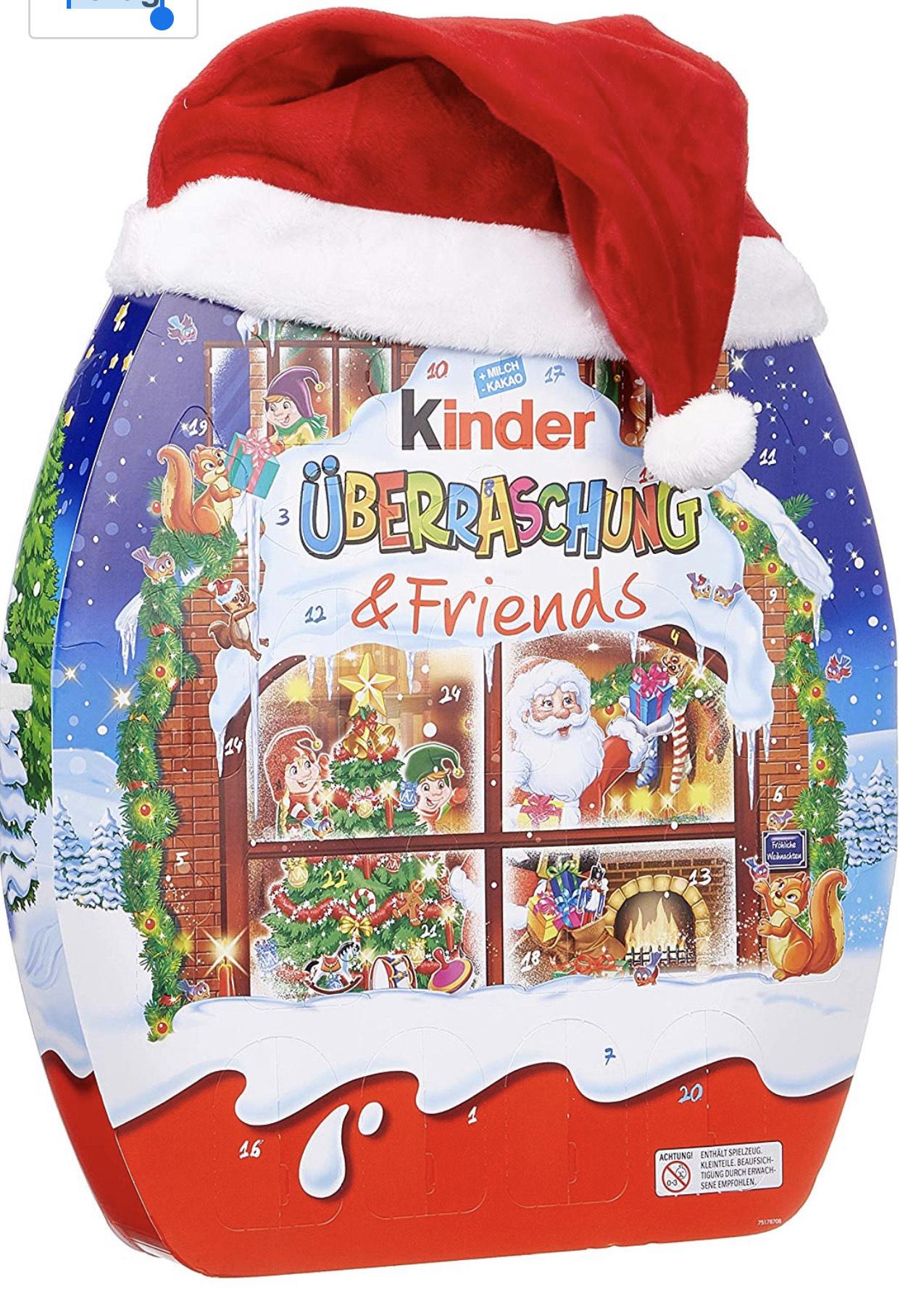 Kinder & Friends Adventskalenders (2 varianten)