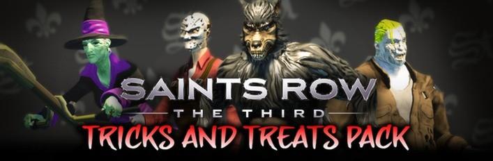 Saints Row: The Third - Tricks and Treats DLC Pack Gratis @ Steam