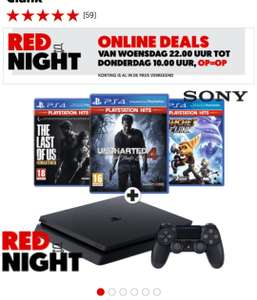 SONY Ps4 1TB ( Slim ) + Uncharted 4 + The Last of Us + Ratchet and Clank