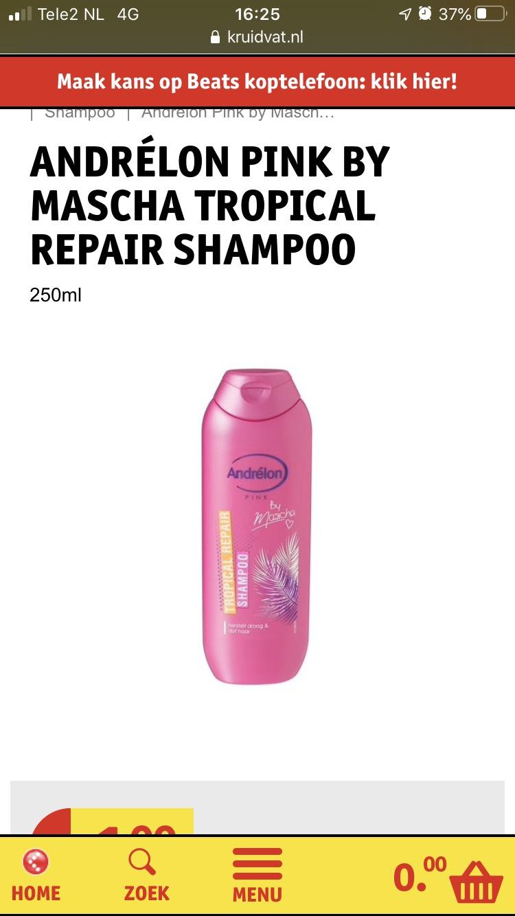Andrelon pink by Masha Shampoo en Conditioner