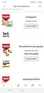 Dolce Gusto Cups 3 voor 10 euro