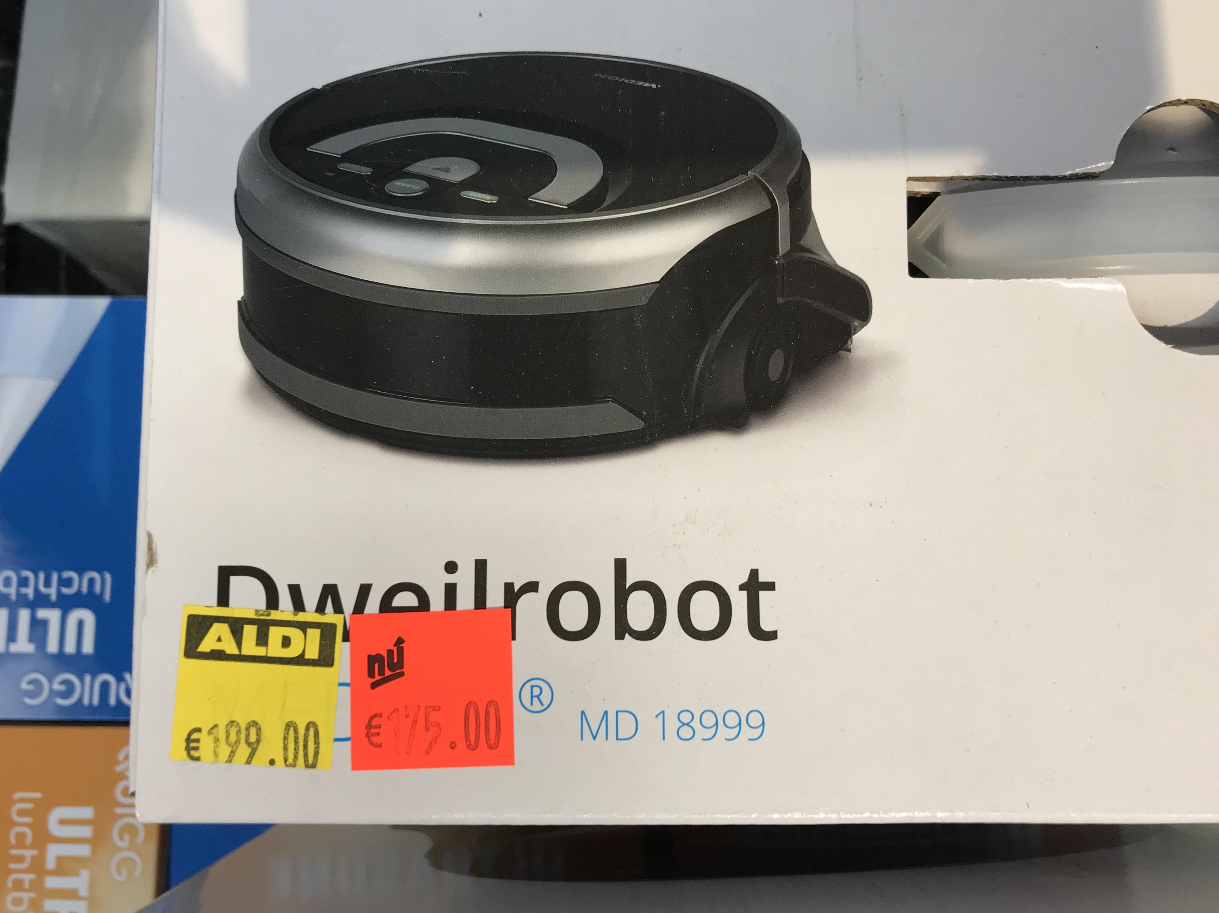 Medion Dweilrobot 18999 was €199,00