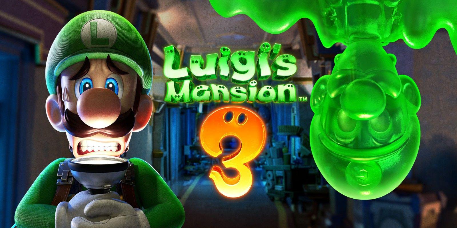 Luigi's Mansion 3 (Nintendo Switch) eShop Key voor maar €46,30 || Eneba
