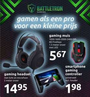 @Action Weekactie Battletron Gaming artikelen