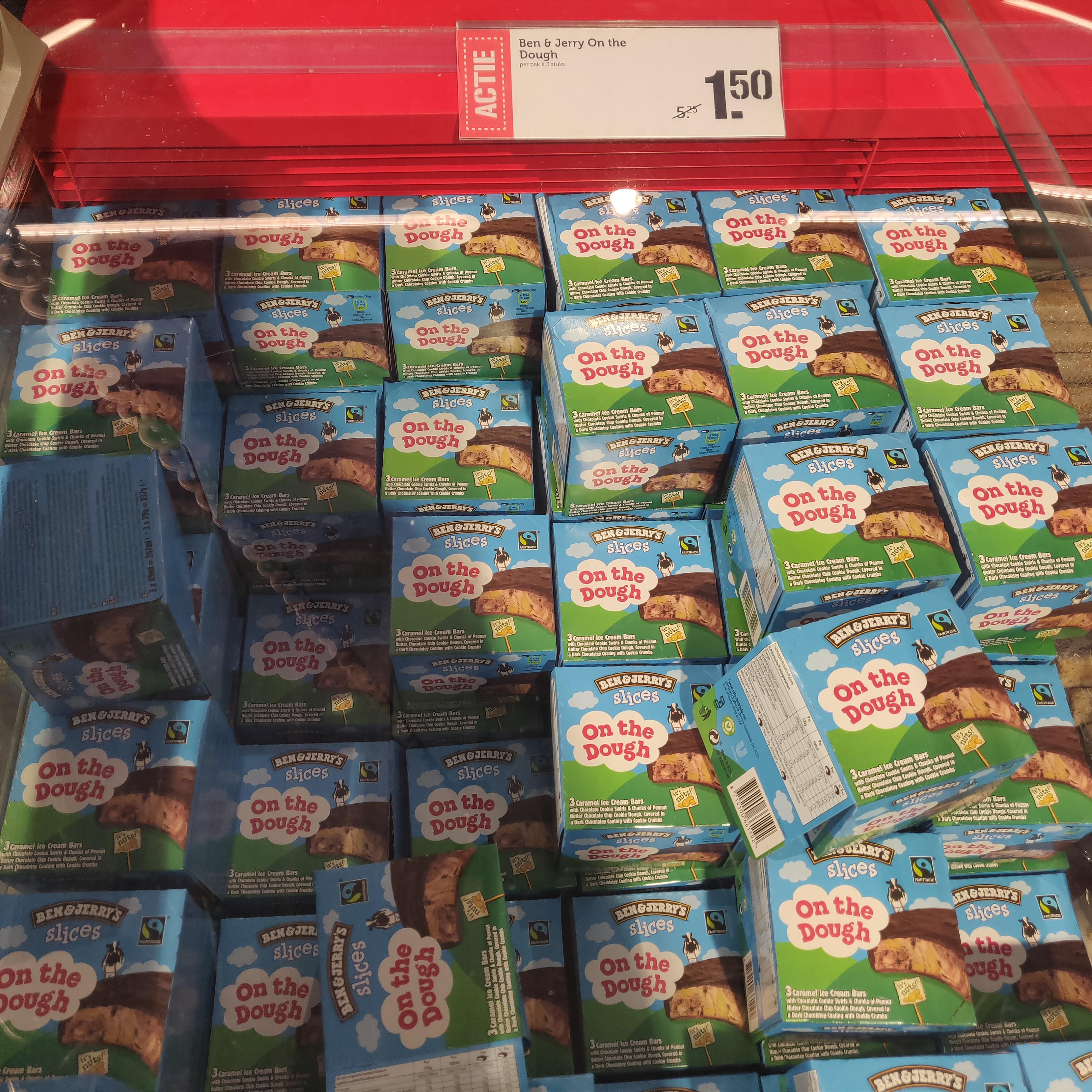 [Den Bosch] Ben & Jerry's Slices On the dough @Super Coop