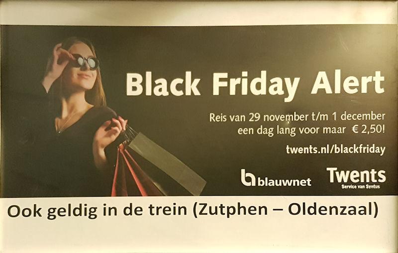 Black Friday-dagkaart Syntus/Keolis