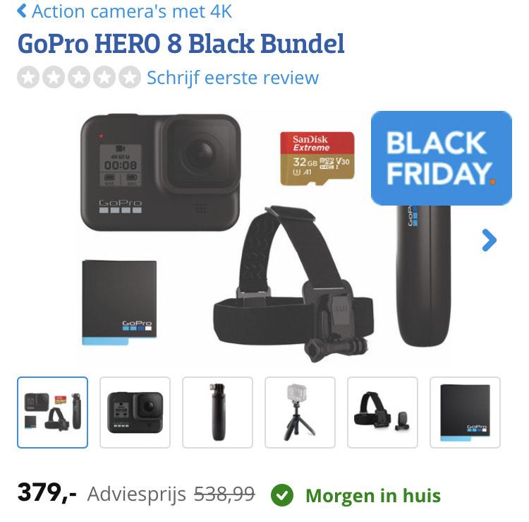 GoPro Hero 8 bundel