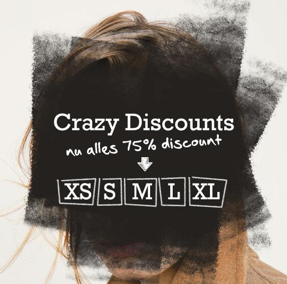 Heel veel fashion - dames & heren - 75% korting @ Vimodos